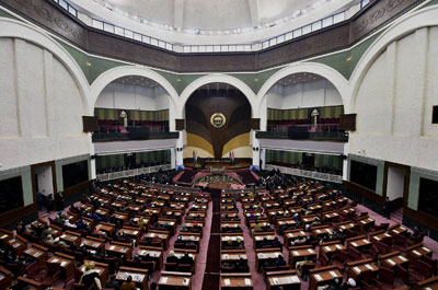 Afghanistan-Parliament-building