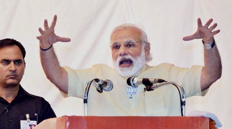 Modi at Thiruvananthapuram