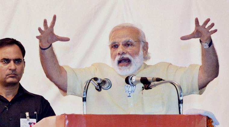 Modi at Thiruvananthapuram