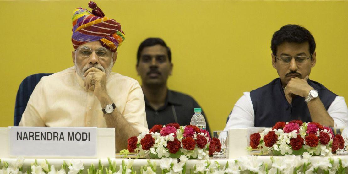 Narendra Modi, Rajyavardhan Singh Rathore