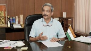 Manohar Parrikar assumes charge